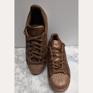 Adidas Superstar rare color (copper)